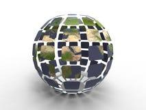 πλανήτης που ανακυκλώνε& απεικόνιση αποθεμάτων