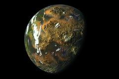 πλανήτης τροπικός Στοκ εικόνα με δικαίωμα ελεύθερης χρήσης