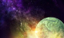 Πλανήτης υδραργύρου Μικτά μέσα στοκ εικόνα