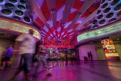 Πλανήτης Hollywood στο ζωηρόχρωμο Las Vegas Strip, Πολιτεία του Α στοκ φωτογραφίες με δικαίωμα ελεύθερης χρήσης