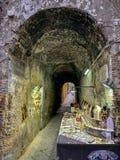 Πλανόδιος πωλητής στη Νάπολη Ιταλία στοκ εικόνες