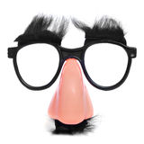 Πλαστά μύτη και γυαλιά Στοκ Εικόνα