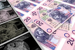 πλαστά χρήματα απεικόνιση αποθεμάτων