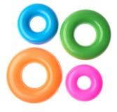 πλαστικά δαχτυλίδια στοκ εικόνες