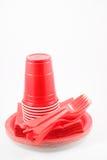 πλαστικά εμπορεύματα γε&up Στοκ Φωτογραφίες