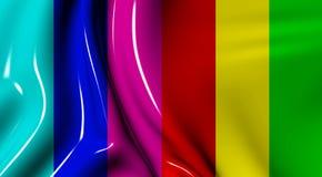 πλαστικά κύματα υφάσματο&sigm ελεύθερη απεικόνιση δικαιώματος