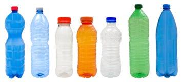Πλαστικά μπουκάλια Στοκ φωτογραφία με δικαίωμα ελεύθερης χρήσης