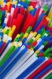 πλαστικά ραβδιά Στοκ εικόνες με δικαίωμα ελεύθερης χρήσης