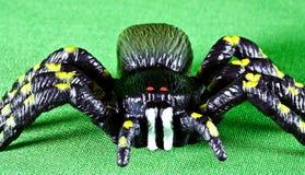 πλαστική αράχνη Στοκ φωτογραφία με δικαίωμα ελεύθερης χρήσης