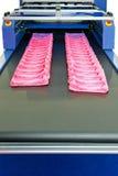 πλαστική παραγωγή τσαντών Στοκ εικόνες με δικαίωμα ελεύθερης χρήσης