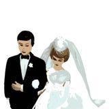 πλαστικός γάμος ανθρώπων Στοκ φωτογραφία με δικαίωμα ελεύθερης χρήσης