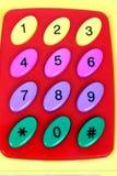 πλαστικό αριθμών Στοκ Εικόνα