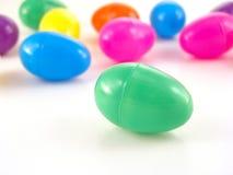 πλαστικό αυγών Πάσχας Στοκ εικόνες με δικαίωμα ελεύθερης χρήσης