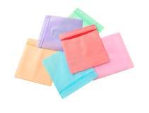 πλαστικό δίσκων χρώματος π& στοκ εικόνες