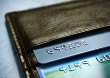 πλαστικό καρτών Στοκ Φωτογραφία