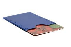 πλαστικό καρτών Στοκ Εικόνες