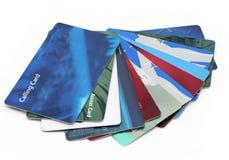 πλαστικό καρτών Στοκ εικόνες με δικαίωμα ελεύθερης χρήσης