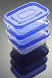 πλαστικό κιβωτίων Στοκ Φωτογραφίες