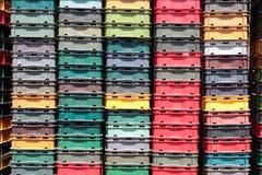 πλαστικό κλουβιών Στοκ εικόνα με δικαίωμα ελεύθερης χρήσης