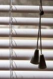 πλαστικό λευκό σκιών Στοκ Φωτογραφία