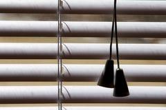 πλαστικό λευκό σκιών Στοκ φωτογραφία με δικαίωμα ελεύθερης χρήσης
