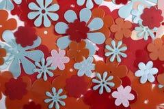 πλαστικό λουλουδιών αν&a Στοκ εικόνες με δικαίωμα ελεύθερης χρήσης