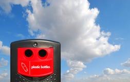 πλαστικό μπουκαλιών τραπεζών Στοκ Εικόνες