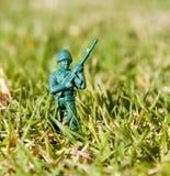 πλαστικό παιχνίδι στρατιω& Στοκ φωτογραφία με δικαίωμα ελεύθερης χρήσης