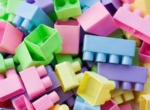 πλαστικό παιχνίδι τούβλων Στοκ εικόνες με δικαίωμα ελεύθερης χρήσης