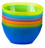 πλαστικό πιάτων Στοκ φωτογραφίες με δικαίωμα ελεύθερης χρήσης