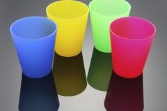 πλαστικό φλυτζανιών Στοκ εικόνες με δικαίωμα ελεύθερης χρήσης