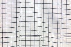 Πλαστικό ύφασμα στην οικοδόμηση του τοίχου κατά τη διάρκεια της αναδημιουργίας Στοκ Φωτογραφίες