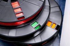 Πλαστικό ABS χρώματος για τον τρισδιάστατο εκτυπωτή στοκ εικόνες με δικαίωμα ελεύθερης χρήσης