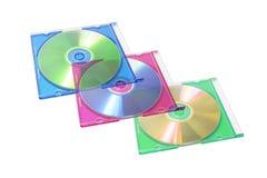 πλαστικό CD περίπτωσης Στοκ φωτογραφίες με δικαίωμα ελεύθερης χρήσης