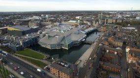 Πλατεία Βικτώριας, Κίνγκστον οδήγηση επάνω του Hull, ανατολή του Γιορκσάιρ Στοκ φωτογραφία με δικαίωμα ελεύθερης χρήσης