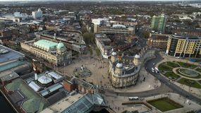 Πλατεία Βικτώριας, Κίνγκστον οδήγηση επάνω του Hull, ανατολή του Γιορκσάιρ στοκ φωτογραφίες