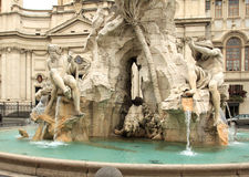πλατεία Ρώμη navona Στοκ Εικόνες