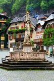πλατεία της Αυστρίας hallstatt στοκ φωτογραφία με δικαίωμα ελεύθερης χρήσης