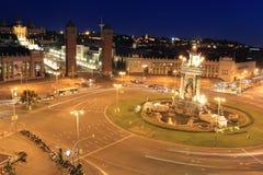 πλατεία της Βαρκελώνης Ισπανία Στοκ φωτογραφίες με δικαίωμα ελεύθερης χρήσης