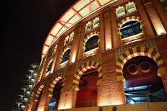 Πλατεία της Βαρκελώνης Plaza de Espana Ισπανία - είσοδος χώρων Στοκ εικόνες με δικαίωμα ελεύθερης χρήσης