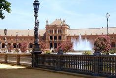 Πλατεία της Ισπανίας, Σεβίλη Στοκ φωτογραφίες με δικαίωμα ελεύθερης χρήσης