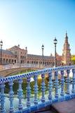 Πλατεία της Ισπανίας, Σεβίλλη, Ισπανία Στοκ Εικόνες