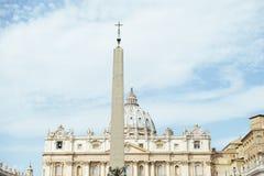 Πλατεία της Ιταλίας, Ρώμη, Βατικανό, ST Peter ` s Στοκ εικόνες με δικαίωμα ελεύθερης χρήσης