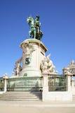 πλατεία της Λισσαβώνας εμπορίου Στοκ εικόνα με δικαίωμα ελεύθερης χρήσης