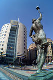 πλατεία του Λιντς πόλεων στοκ εικόνες