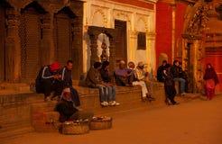 πλατεία του Νεπάλ duba Στοκ Φωτογραφία