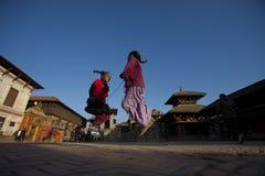 πλατεία του Νεπάλ duba Στοκ εικόνες με δικαίωμα ελεύθερης χρήσης