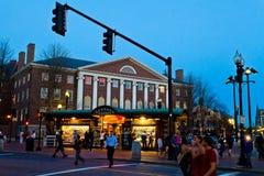 πλατεία του Χάρβαρντ Στοκ Εικόνες