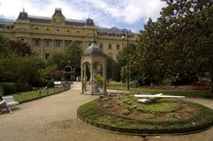 πλατεία του San Sebastian guipuzcoa Στοκ Εικόνες