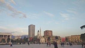 πλατεία των Τιράνων στοκ φωτογραφίες